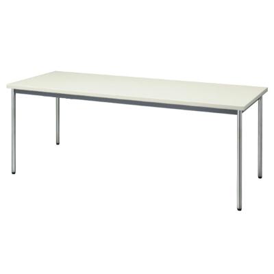 会議用テーブル 幅1800 奥行600 ニューグレー