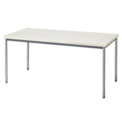 会議用テーブル 幅1500 奥行750 ニューグレー