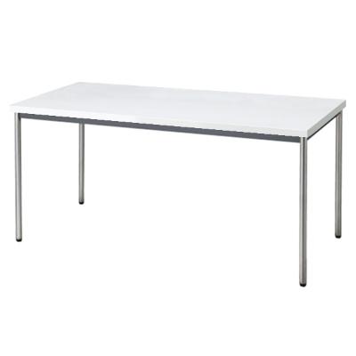 会議用テーブル 幅1500 奥行750 ホワイト