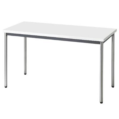 会議用テーブル 幅1200 奥行600 ホワイト