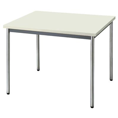 会議用テーブル 幅900 奥行900 ニューグレー