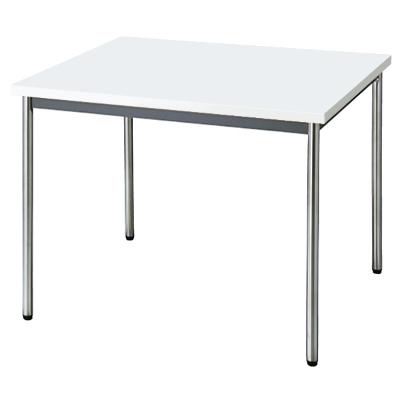 会議用テーブル 幅900 奥行900 ホワイト
