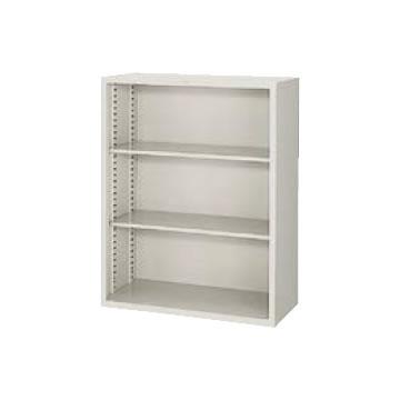 A4判対応 オープン書庫 高さ1110 ウォームホワイト