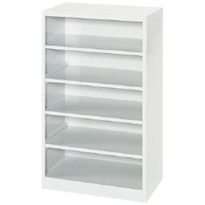 オープンシューズボックス 10人用(5段×横2人) ホワイト