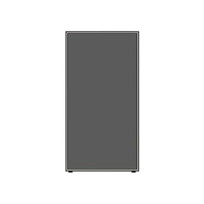 ローパーテーションLPEシリーズ 高さ1860mm 幅1000mm チャコール