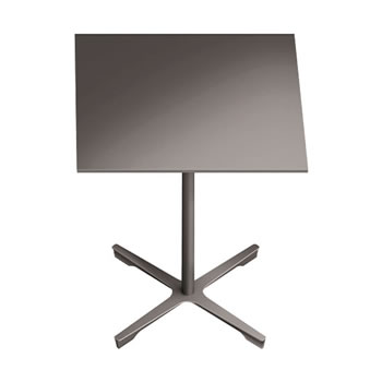 nel ミーティングテーブル 750四角天板 type-B グレージュ