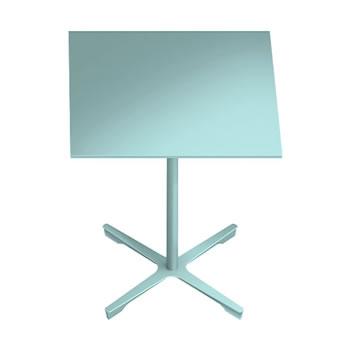 nel ミーティングテーブル 750四角天板 type-B セージ