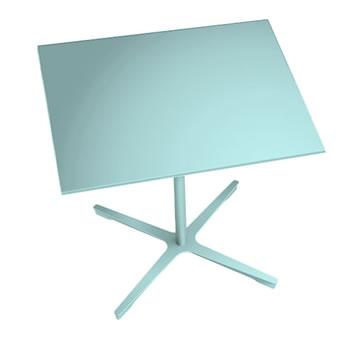 nel ミーティングテーブル 900四角天板 type-B セージ