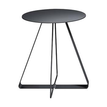 nel カフェテーブル 丸天板 type-A ブラック