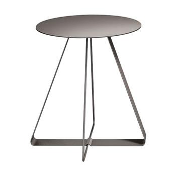 nel カフェテーブル 丸天板 type-A グレージュ