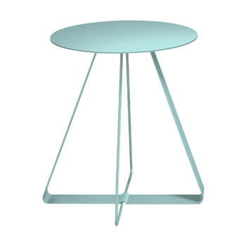 nel カフェテーブル 丸天板 type-A セージ