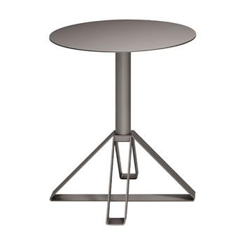 nel カフェテーブル 丸天板 type-B グレージュ