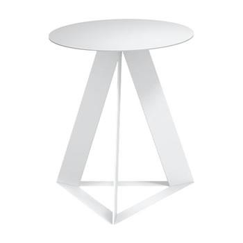nel カフェテーブル 丸天板 type-C ネオホワイト