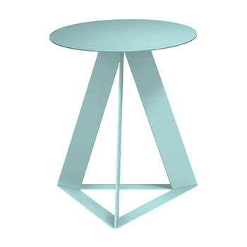 nel カフェテーブル 丸天板 type-C セージ