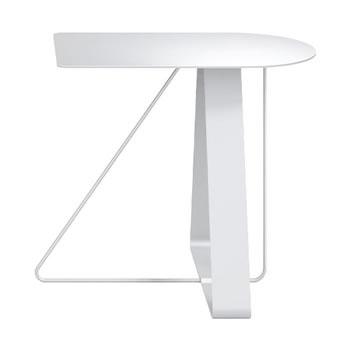 nel カフェテーブル オーバーハング天板 type-A ネオホワイト