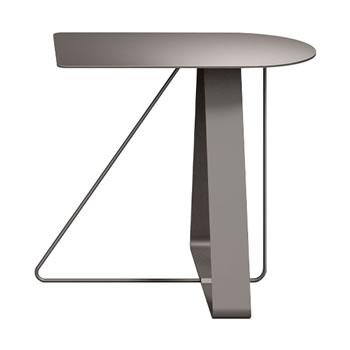 nel カフェテーブル オーバーハング天板 type-A グレージュ