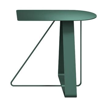 nel カフェテーブル オーバーハング天板 type-A ダークグリーン