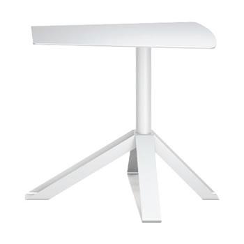 nel カフェテーブル オーバーハング天板 type-B ネオホワイト