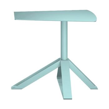 nel カフェテーブル オーバーハング天板 type-B セージ