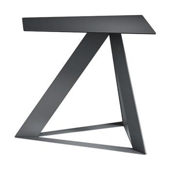 nel カフェテーブル オーバーハング天板 type-C ブラック