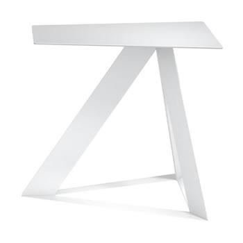 nel カフェテーブル オーバーハング天板 type-C ネオホワイト