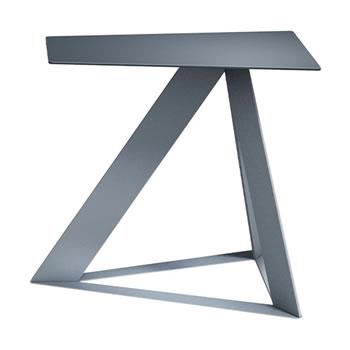 nel カフェテーブル オーバーハング天板 type-C ダークグレー