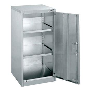 ステンレス保管ユニット 片開き戸 幅450 高さ900