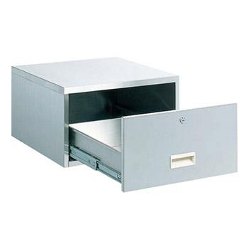 ステンレス薬品保管庫用セキュリティボックス
