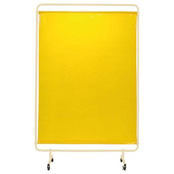 遮光スクリーン キャスター付き 幅1310 高さ2057 イエローシート