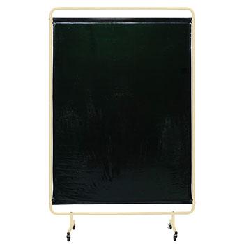 遮光スクリーン キャスター付き 幅1310 高さ2057 ダークグリーンシート