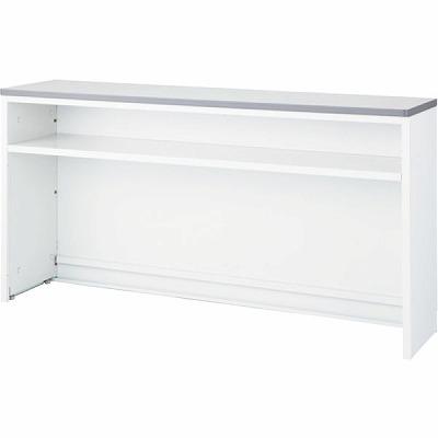 ハイカウンター NS インフォメーションタイプ 幅1200 本体色:ホワイト 天板色:ホワイト