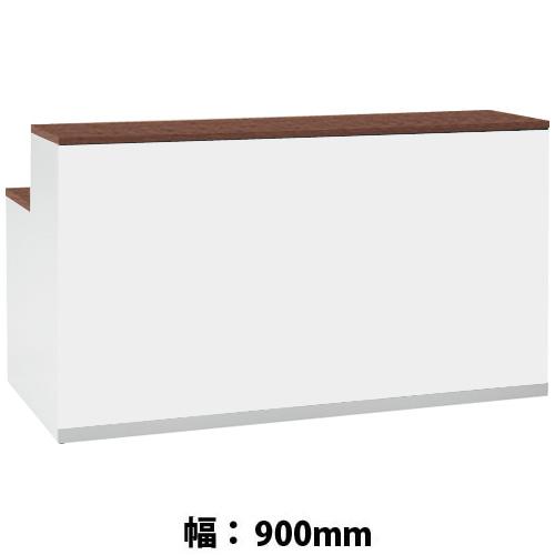オカムラ 48EJ1A-MK56 インフォメーションカウンター ネオウッドダーク天板