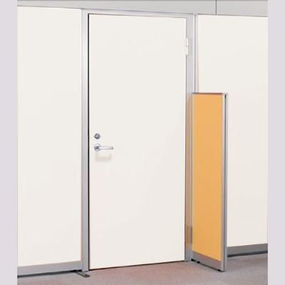 パーテーションLPX 右開き窓なしドアスチールパネル 高さ1900 ホワイト