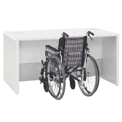 車椅子対応ローカウンター 1500幅 ホワイト