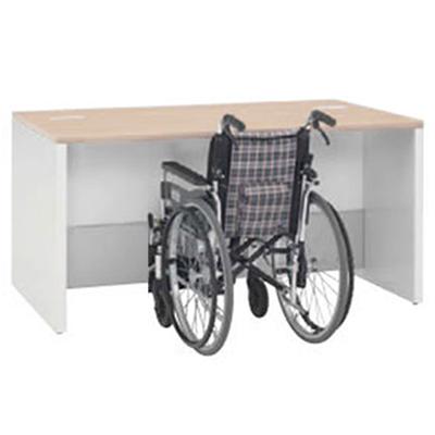車椅子対応ローカウンター 1500幅 ネオウッドライト