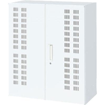 上下兼用ノートパソコン40台収納キャビネット ホワイト 幅900×奥行450×高さ1050mm