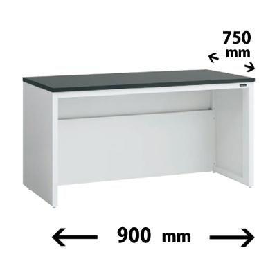 実験台 片面 配線カバータイプ 幅900 奥行き750