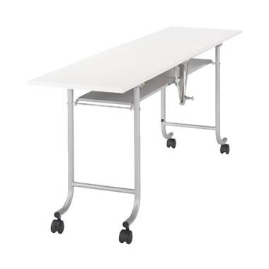 フライトテーブル ホワイト 奥行450mm