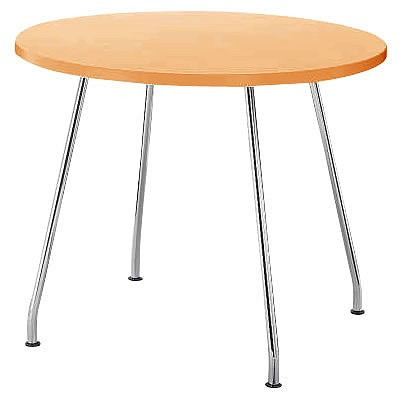 リフレッシュテーブル 円形 φ900 ナチュラル