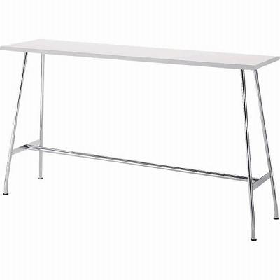 リフレッシュテーブル ハイタイプ 長方形 幅1800 ホワイト
