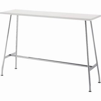 リフレッシュテーブル ハイタイプ 長方形 幅1500 ホワイト