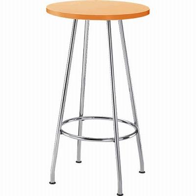 リフレッシュテーブル ハイタイプ 円形 φ600 ナチュラル