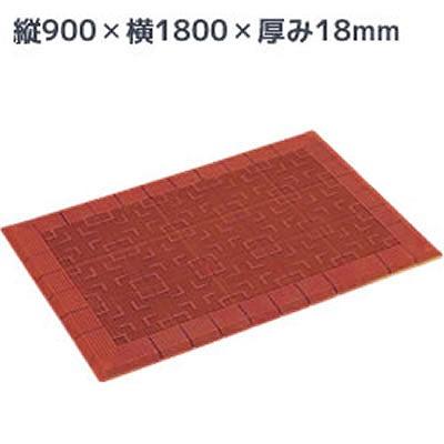 MR-050-056-4 テラロイヤルRマットスルー形状 茶