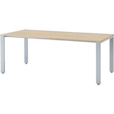 会議テーブル 幅1800×奥行900mm ナチュラル