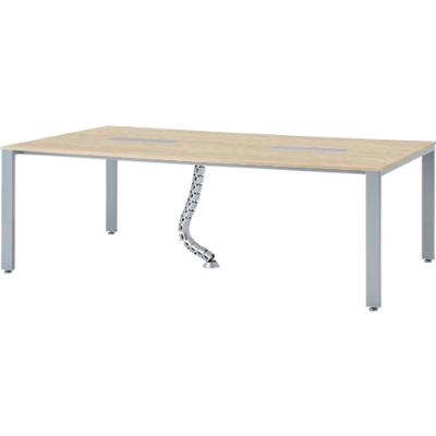 会議テーブル 幅2100×1200mm ナチュラル