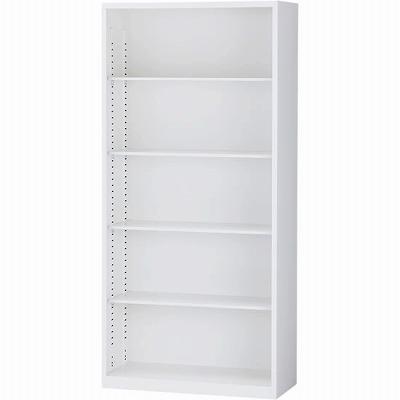 オープン書庫 下置用 ホワイト 幅880×奥行380×高さ1860mm
