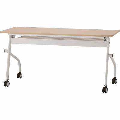 平行スタックテーブル 幅1500×奥行600mm ナチュラル