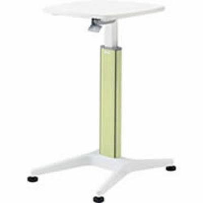 採血テーブル 天板ホワイト グリーン