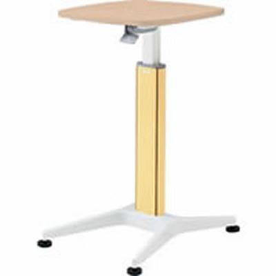 採血テーブル 天板ネオウッドライト イエロー