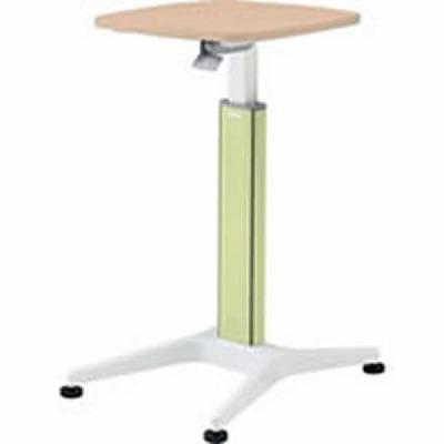 採血テーブル 天板ネオウッドライト グリーン